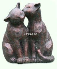 Cat garden ornaments uk popular garden 2017 prowling dozing cat garden ornament statue sculpture stone pet workwithnaturefo